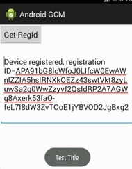 android-gcm-show-message