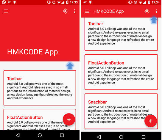 Building Material Design App Using Android Design Support