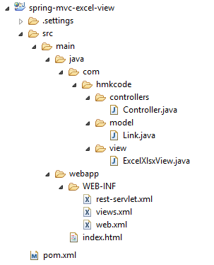 spring-mvc-excel-view-project
